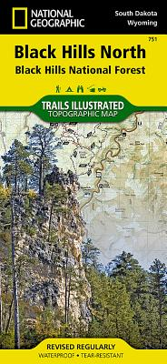 Black Hills North [Black Hills National Forest] (National Geographic Trails Illustrated Map #751) Cover Image
