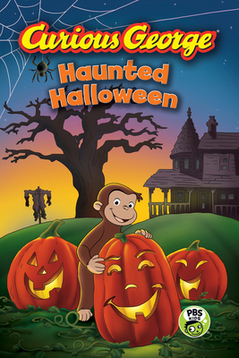 Curious George Haunted Halloween (CGTV Reader) Cover Image