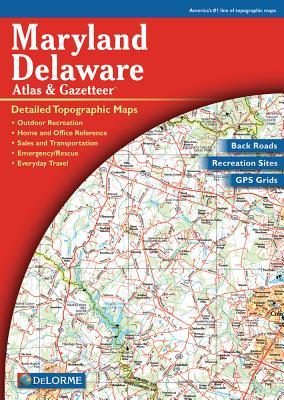 Map-MD/del Atlas & Gazetteer 4 (Maryland) Cover Image