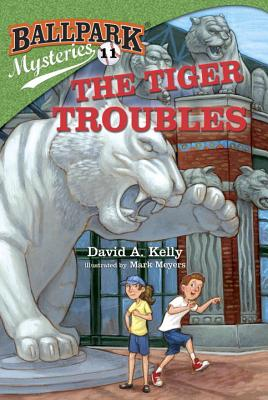 Ballpark Mysteries #11: The Tiger Troubles Cover Image