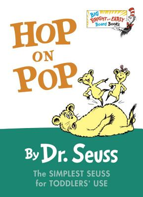 Hop on Pop (Big Bright & Early Board Book) Cover Image