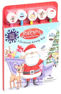Cover for Rudolph the Red-Nosed Reindeer Pencil Toppers