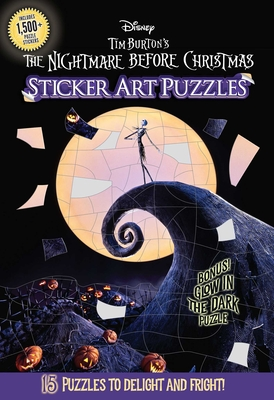 The Nightmare Before Christmas Sticker Art Puzzles Cover Image