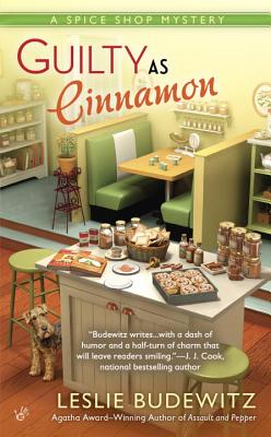 Guilty as Cinnamon: A Spice Shop Mystery Cover Image