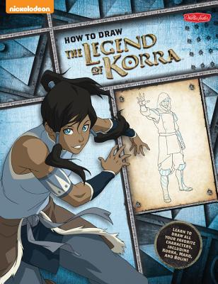 How to Draw the Legend of Korra Cover