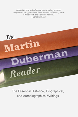 The Martin Duberman Reader Cover