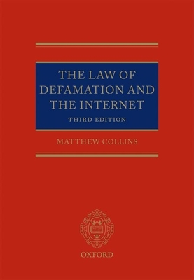 The Law of Defamation and the Internet the Law of Defamation and the Internet Cover Image