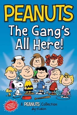 Peanuts: The Gang's All Here!: Two Books In One (Peanuts Kids) Cover Image