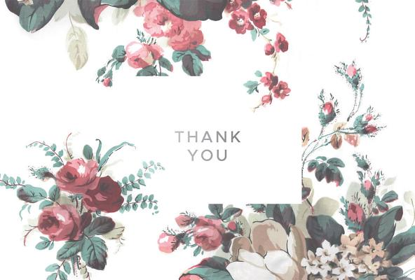 English Heritage Boxed Thank You Cards Cover Image