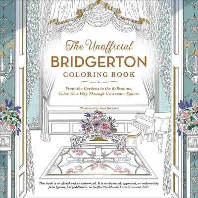 Cover for The Unofficial Bridgerton Coloring Book