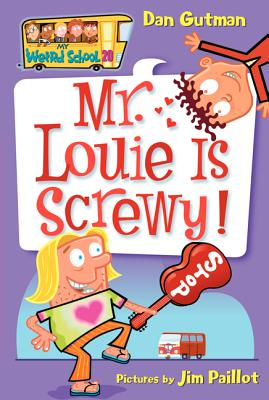 Mr. Louie Is Screwy! Cover