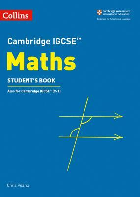 Cambridge IGCSE® Maths Student Book (Cambridge International Examinations) Cover Image