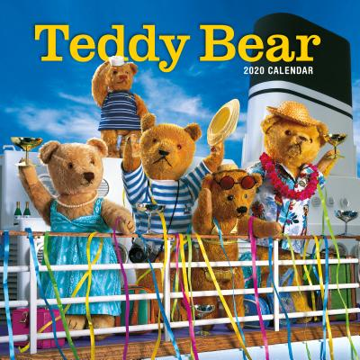 Teddy Bear Wall Calendar 2020 Cover Image