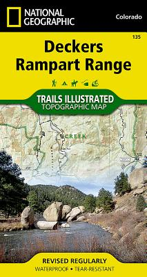 Deckers, Rampart Range (National Geographic Maps: Trails Illustrated #135) Cover Image