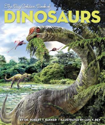The Big Golden Book of Dinosaurs Cover