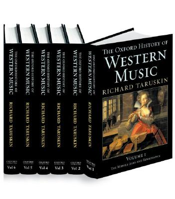 Oxford History of Western Music Cover