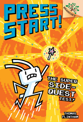 The Super Side-Quest Test!: A Branches Book (Press Start! #6) Cover Image