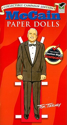 McCain Paper Dolls Cover
