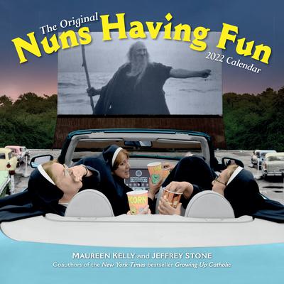 Nuns Having Fun Wall Calendar 2022 Cover Image