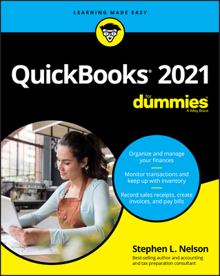 QuickBooks 2021 for Dummies Cover Image