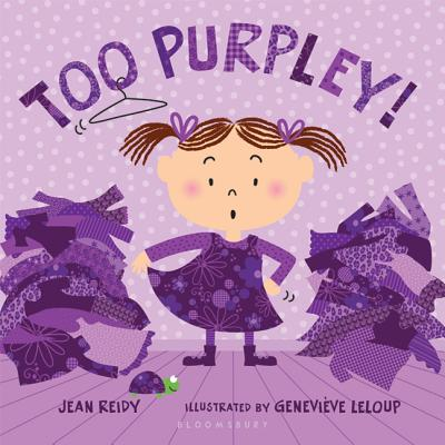 Too Purpley! (Too! Books) Cover Image