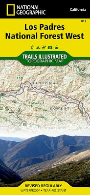 Los Padres National Forest West (National Geographic Trails Illustrated Map #813) Cover Image