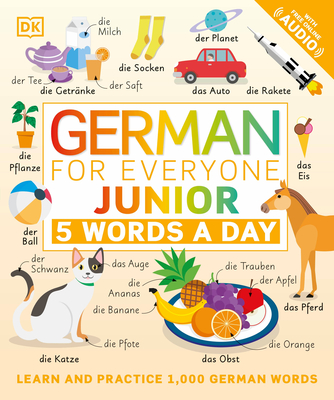 German for Everyone Junior: 5 Words a Day Cover Image