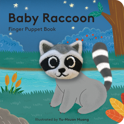 Baby Raccoon: Finger Puppet Book Cover Image