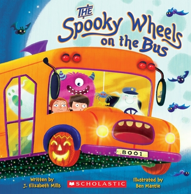 The Spooky Wheels on the Bus Cover Image