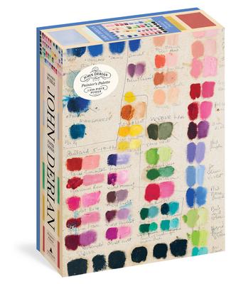 John Derian Paper Goods: Painter's Palette 1,000-Piece Puzzle (Artisan Puzzle) Cover Image