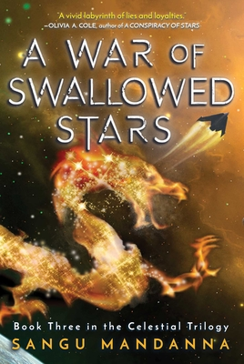 Cover for A War of Swallowed Stars (Celestial Trilogy #3)