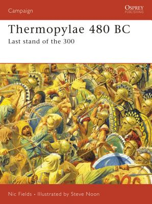 Thermopylae 480 BC Cover