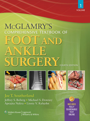 McGlamry's Comprehensive Textbook of Foot and Ankle Surgery, 2-Volume Set Cover Image