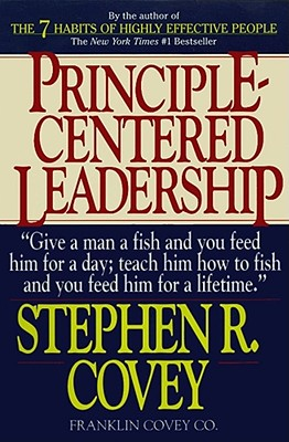 Principle Centered Leadership Cover Image
