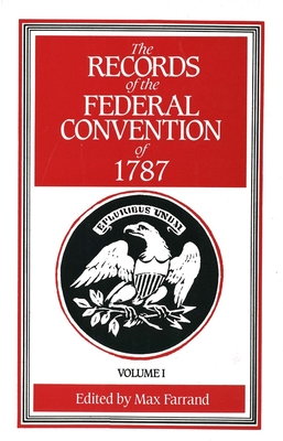 Cover for The Records of the Federal Convention of 1787