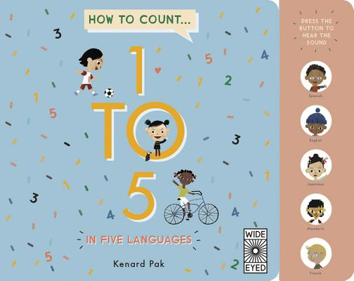 How to Count 1 to 5 in Five Languages Cover Image