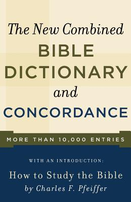 New Combined Bible Dictionary and Concordance (Direction Books) Cover Image