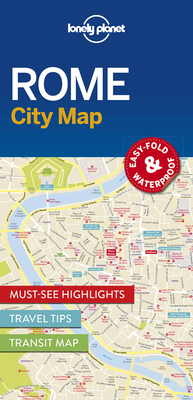 Lonely Planet Rome City Map Cover Image