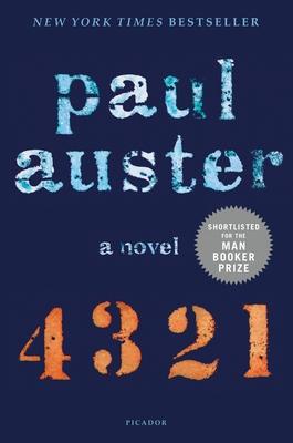 4 3 2 1: A Novel Cover Image