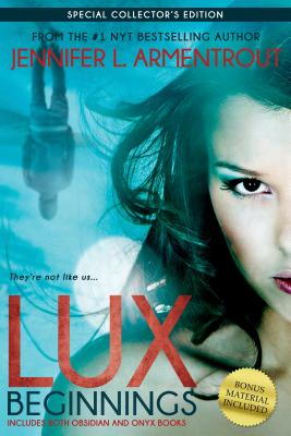 Lux: Beginnings (Obsidian & Onyx) (A Lux Novel) Cover Image