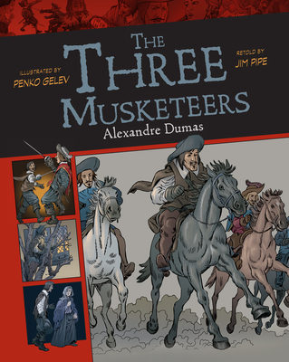 Cover for The Three Musketeers, 12 (Graphic Classics #12)
