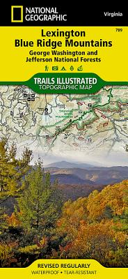 Lexington, Blue Ridge MTS [george Washington and Jefferson National Forests] (National Geographic Maps: Trails Illustrated #789) Cover Image