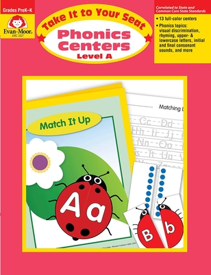 Phonics Centers Level A: EMC 3327 (Take It to Your Seat) Cover Image