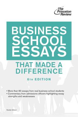 Business School Essays That Made a Difference, 6th Edition Cover Image