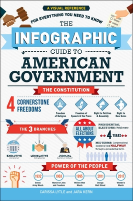 The Infographic Guide to American Government: A Visual Reference for Everything You Need to Know Cover Image