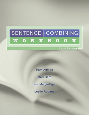 Sentence-Combining Workbook Cover Image