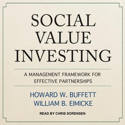 Social Value Investing: A Management Framework for Effective Partnerships Cover Image