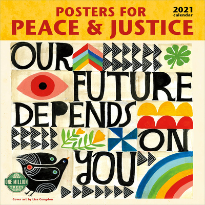 Posters for Peace & Justice 2021 Wall Calendar Cover Image