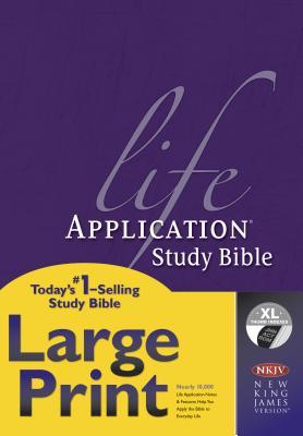 Life Application Study Bible-NKJV-Large Print Cover Image