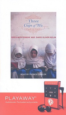 Three Cups of Tea [With Headphones] (Playaway Adult Nonfiction) Cover Image